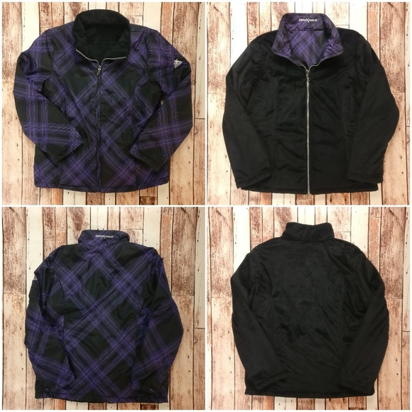 ZeroXposur Jackets & Blazers - ZeroXposur Reversible Jacket Purple Plaid Design!